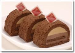 黒砂糖を使ったケーキ