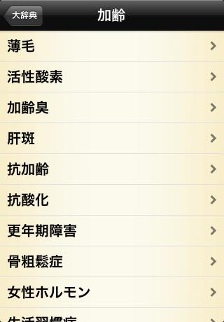 アンチエイジング+の「大辞典」